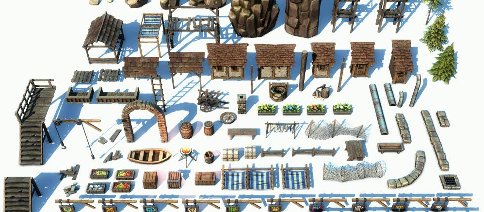 Onde comprar scripts, texturas, áudio e modelos 3D para jogos?