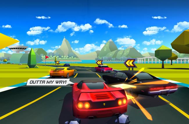 Criando um novo jogo a partir de um gênero antigo com Horizon Chase