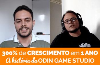 Empresa de Jogos Cresce 300% em 1 Ano: a História da Odin Game Studio
