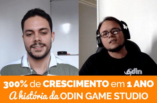 PDJ Show 20 – Empresa de Jogos Cresce 300% em 1 Ano: A História da Odin Game Studio
