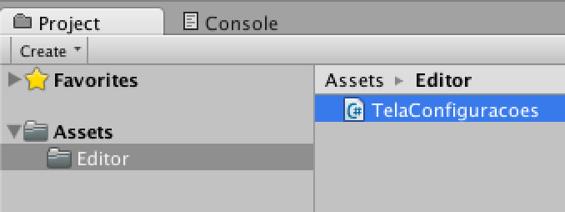 Unity EditorWindow