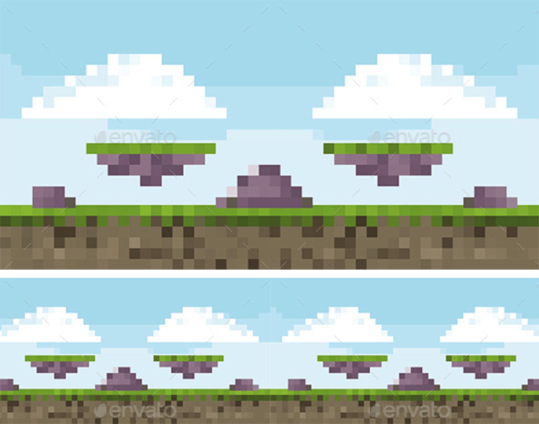 como surgiu o pixel art
