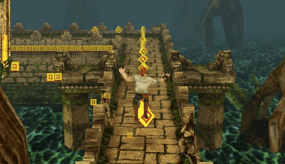 O jogo Temple Run Trilogy foi desenvolvido na Unity
