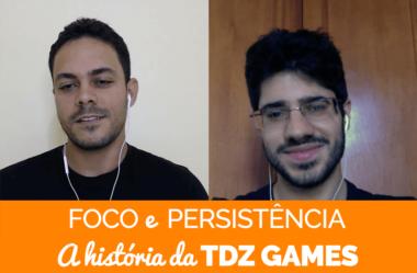 Como ter persistência e usar suas melhores habilidades para criar jogos: A história de Tiago Zaidan, CEO da TDZ Games