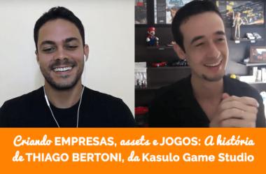 Criando empresas, assets e jogos: a trajetória de Thiago Bertoni, fundador da Kasulo Game Studio