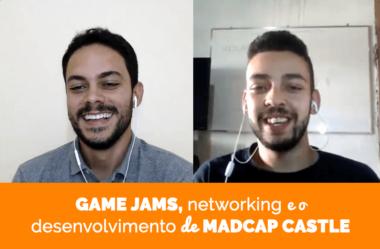 Game jams, networking e o desenvolvimento de Madcap Castle: a história de Diel Mormac