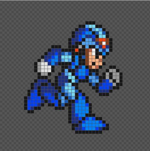 Exemplo de imagem pixel art