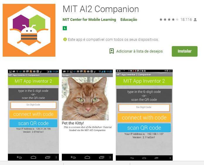 Instalando o App Inventor no Android