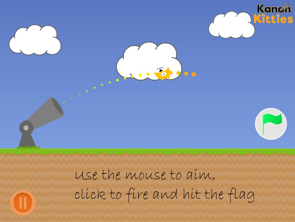 O jogo Kannon Kitties foi feito no Scratch