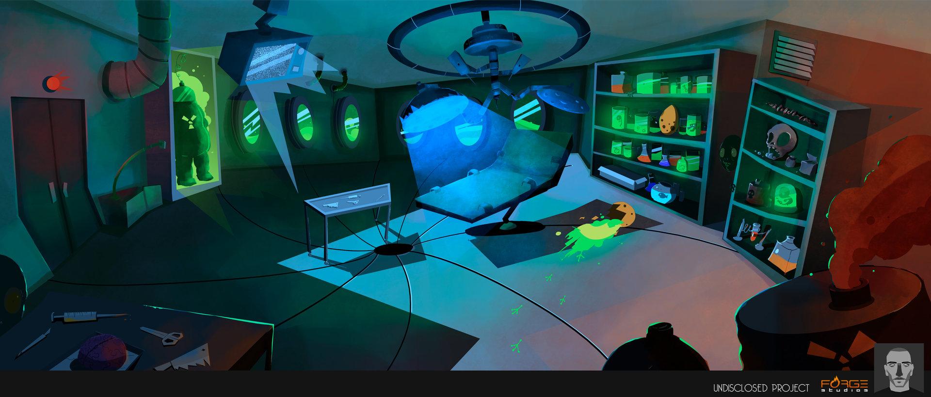 Criação de cenários 3D