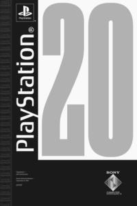 Pôster comemorativo de 20 anos de lançamento do PlayStation