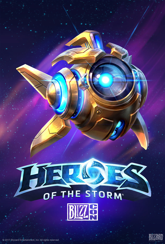Ilustração Promocional Blizzcon Heroes of The Storm Sondius