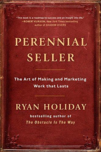 Livro de marketing Perennial Seller para uso em empresa de jogos